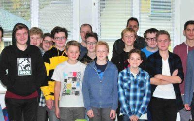 Jugend besucht comtech