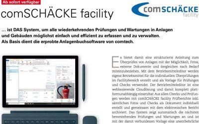 comSCHÄCKE facility in der Regrotec