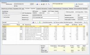 comeconomy-Funktion: Stücklisten mit 1 Klick