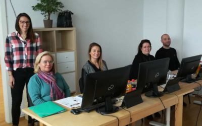 Erste comeconomy-Schulung in Wr. Neustadt