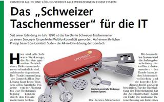 """Das """"Schweizer Taschenmesser"""" für die IT"""