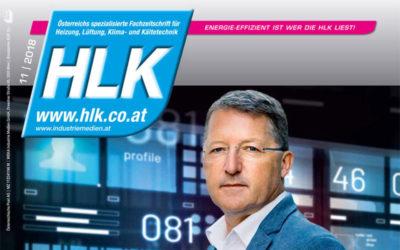 Coverstory HLK 11|2018 – 3000 Anwender arbeiten mit Comtech